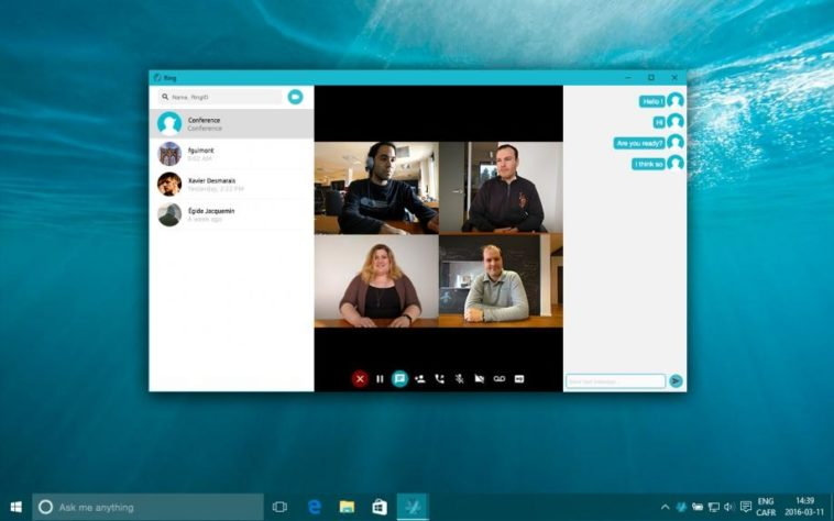 Ring: Alternativa open source a Skype, con mayor privacidad