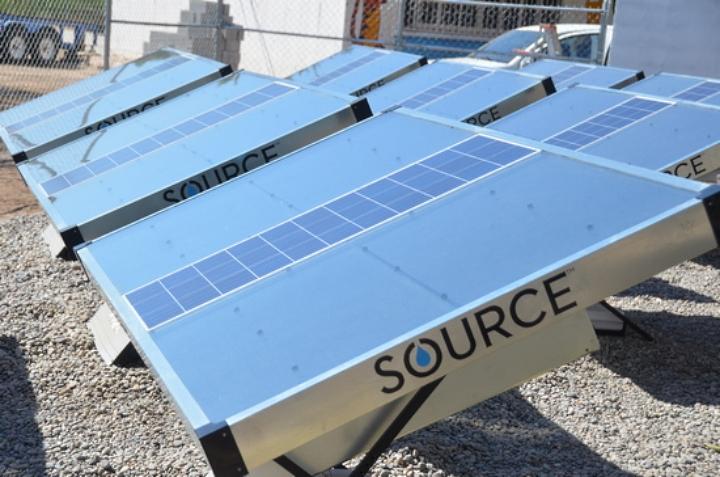 Source: Suministro inagotable de agua por condensación con energía solar