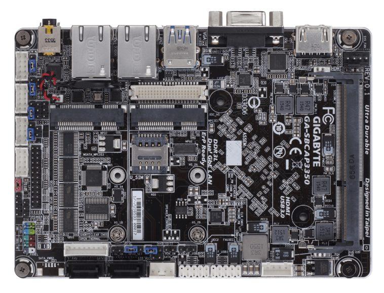Gigabyte anuncia un nuevo micro ordenador que puede ser actualizado