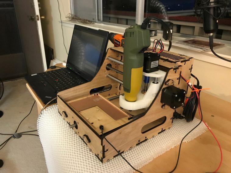 «Impresora 3D» hogareña para fabricar placas de circuitos