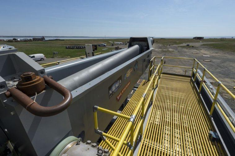 La Armada estadounidense avanza en el desarrollo de su cañón electromagnético
