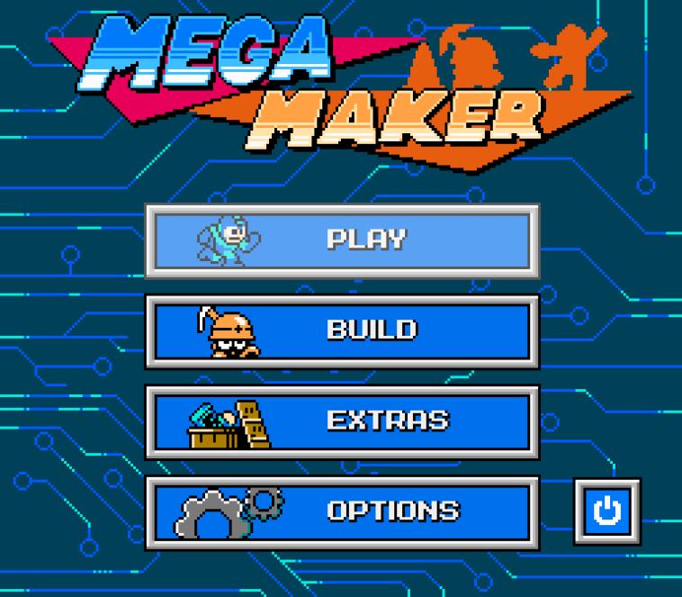 Mega Maker: Crea tus propios niveles de Mega Man
