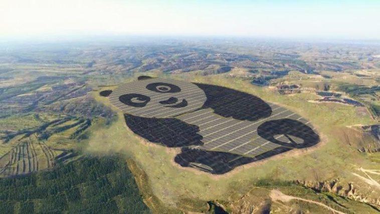 Poder Panda: La estación solar china con forma de oso panda