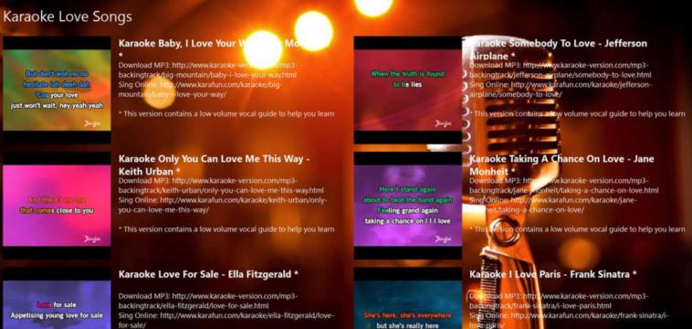 Programas de Karaoke para Windows