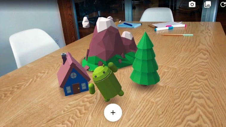 ARCore: Realidad aumentada para Android