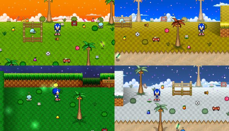 Chao Resort Island: Juego gratuito de Sonic, al estilo Tamagotchi
