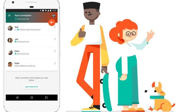 Contactos de confianza: App de Google para compartir tu estado y ubicación