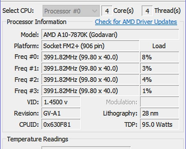 Core Temp: Controla la temperatura de tu procesador