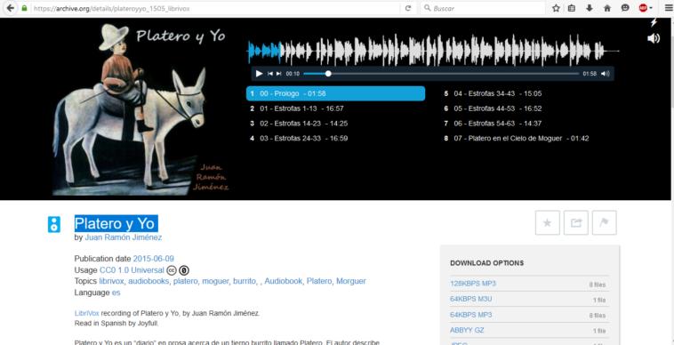 Descarga y escucha audiolibros