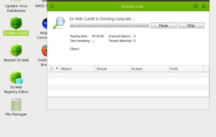 Dr. Web LiveDisk: Cómo usar un entorno de emergencia para reparar a Windows