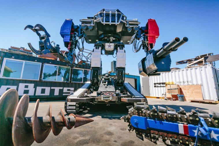 Eagle Prime: El robot gigante de Estados Unidos se prepara para el combate
