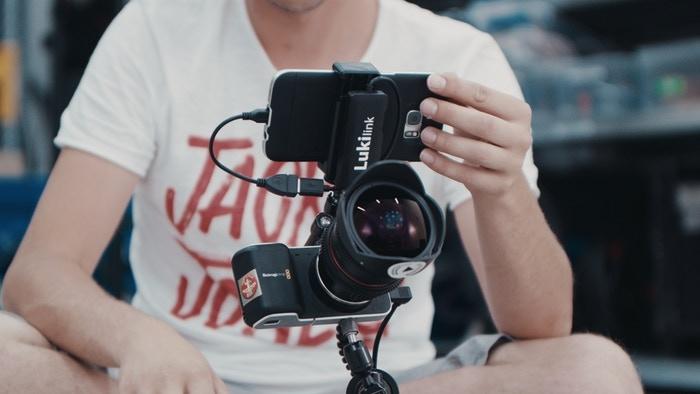 LukiLink: Convierte tu teléfono en una pantalla para tu videocámara (HDMI a USB)