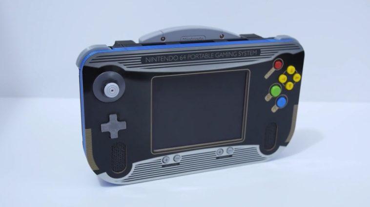 Nintendo 64 Portable: Cómo construir una consola Nintendo 64 portátil