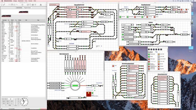Rocrail: Software para controlar trenes a escala