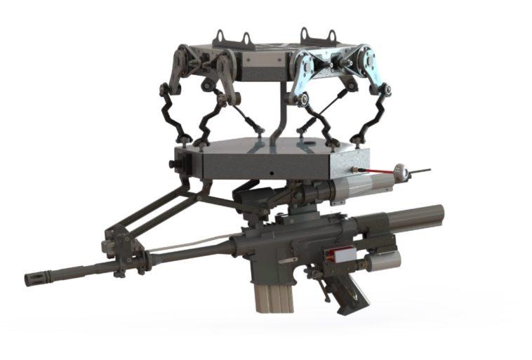 TIKAD: Un dron equipado con lanzagranadas y ametralladoras