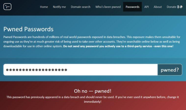 ¿Usas un password que ya fue hackeado? ¡Búscalo en esta lista!