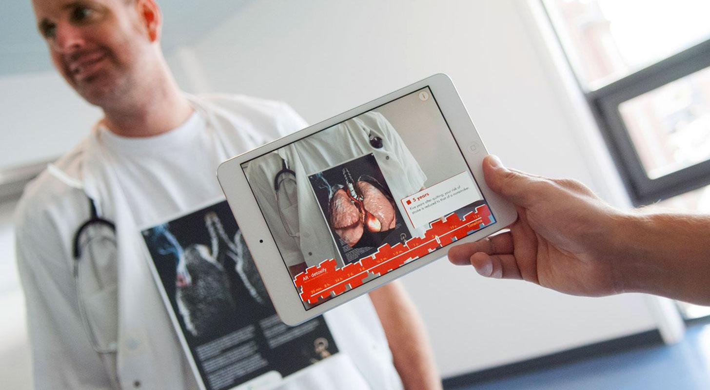 Realidad aumentada aplicada en medicina