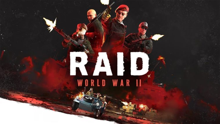 Acción en cooperativo con RAID: World War II