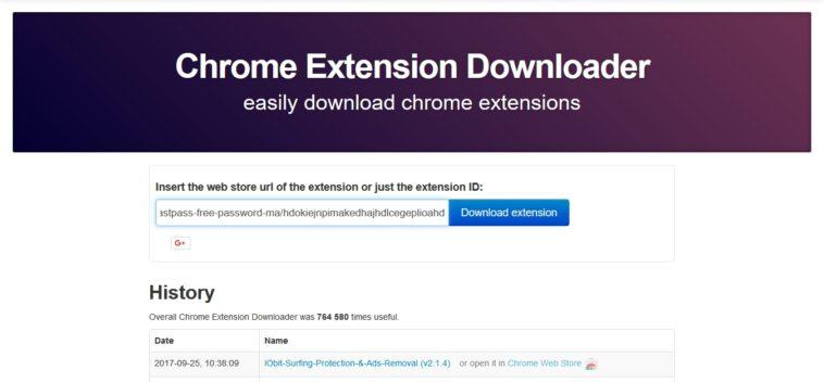 Chrome Extension Downloader: Examina el código de cualquier extensión de Chrome (antes de instalarla)