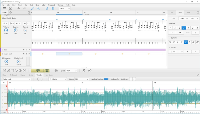 Gadwin Rockmer: Cómo crear y escuchar tablaturas para guitarra