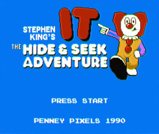 """Stephen King's IT – The Hide & Seek Adventure"": El videojuego ficticio basado en la película del payaso asesino"