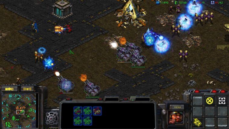 Facebook participó de un torneo de StarCraft para inteligencias artificiales
