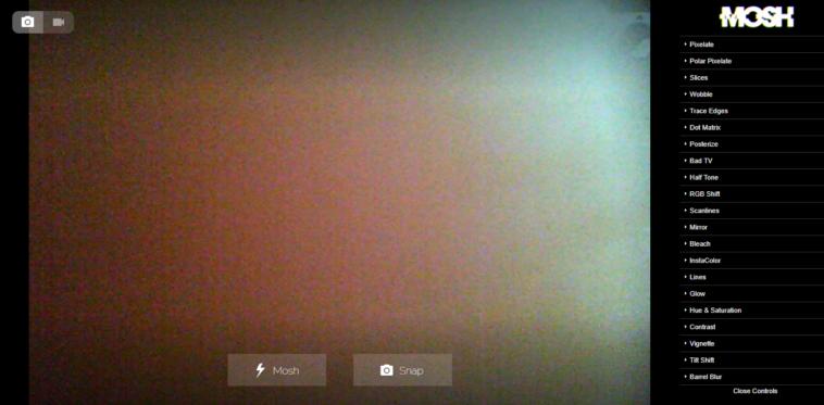 Mosh: Cómo crear GIF animados con efectos de tus fotografías