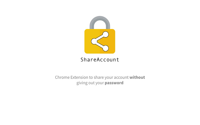 ShareAccount: Comparte una cuenta de Netflix, sin compartir la contraseña