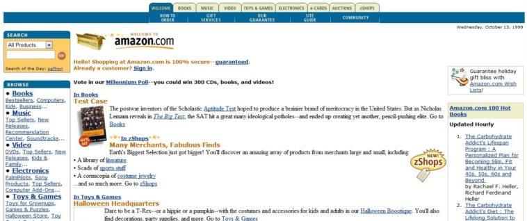 Amazon.com en 1999: Los inicios de la empresa de Jeff Bezos en un vídeo