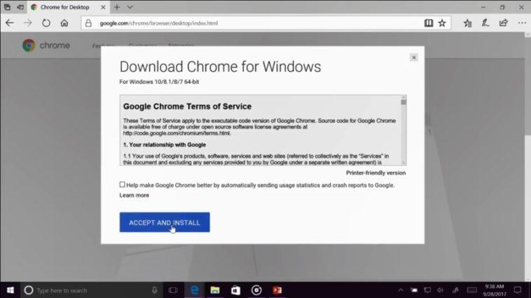 Ingeniero de Microsoft instala Chrome en el medio de una presentación porque Edge no funciona