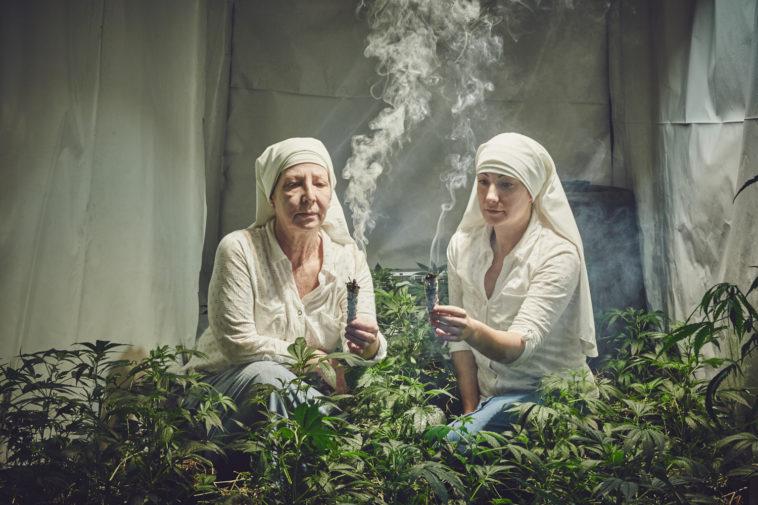 Las monjas que cultivan marihuana para ayudar a los enfermos (Galería)