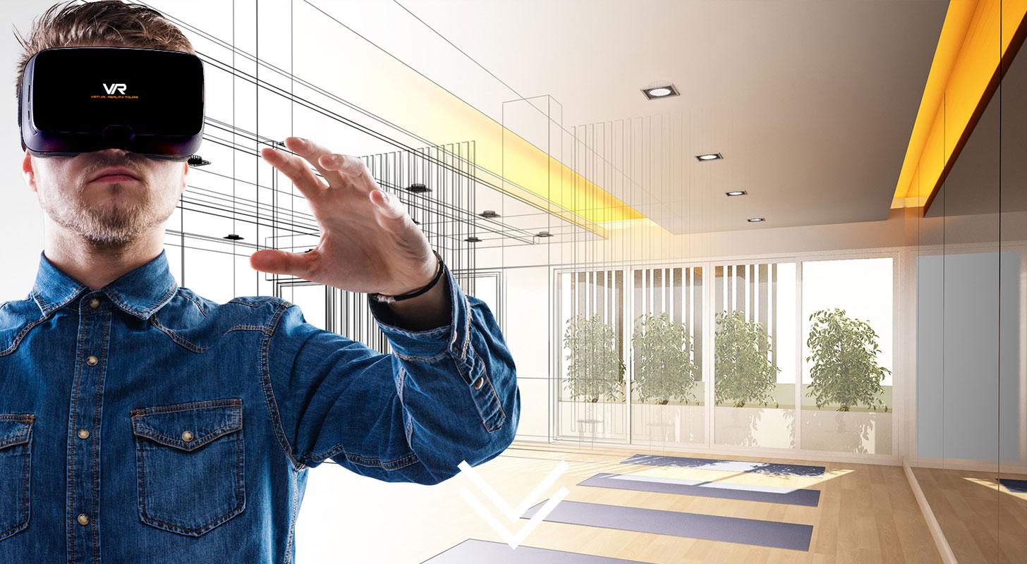 La Realidad Virtual permite visitar proyectos aún no comenzados